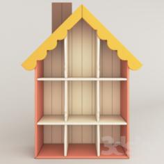 Shelves for toys                                      Free 3D Model
