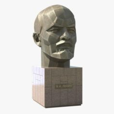Lenin Monument 3D Model
