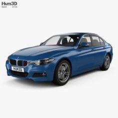 BMW 3 Series F30 M Sport 2015 3D Model