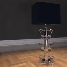 Eichholtz Table Lamp Lucillo 3D Model