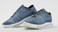 Nike LunarEpic Low Flyknit 2 Blue 3D Model