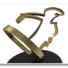 Canvandolis Linea ring 3D Model