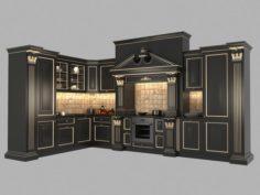 Classic Kitchen Design 3 3D Model