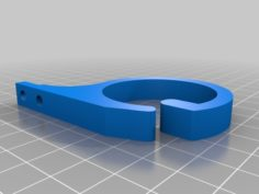 Cable clip v2 remix 3D Print Model