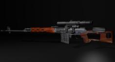 Dragunov 3D Model