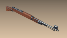Karabiner98KRifle 3D Model