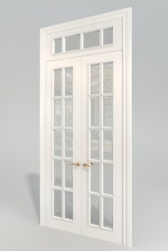 DoorRomanFacetDK 3D Model