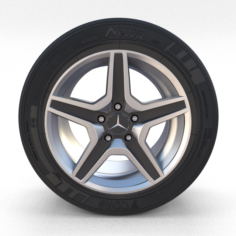 Mercedes G Class Wheel 3D Model
