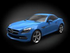 Mercedes-Benz SLK-class 2012 3D Model