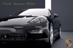 Porsche Panamera S hybrid 2018 3D- 3D Model