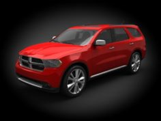 Dodge Durango 2011 3D Model