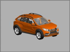 Lada XRay 2015 3D Model