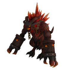 Game 3D Character – Candle Dragon 3D Model