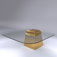 Eicholtz Coffee Table Orient 3D Model