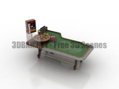 Abbiati casino table 3D Collection