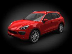 Porsche Cayenne 2011 3D Model