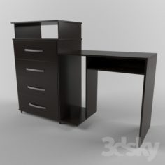Drawer Chocolate Chest                                      Free 3D Model