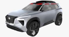 Nissan Xmotion Concept 3D Model