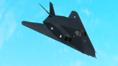 F117 Stealth 3D Model