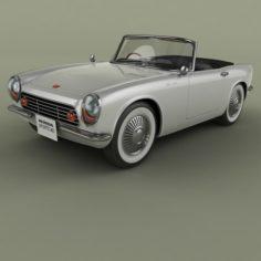 Honda Sports 360 3D Model