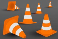 Road Maker Barrier 3D Model