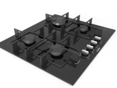 Cooktop 07 3D Model