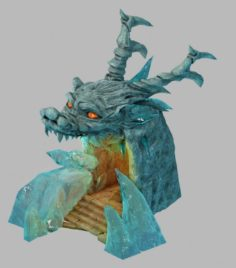 Tongtianhe – ice dragon cave 01 3D Model
