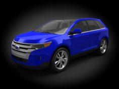 Ford Edge 2011 3D Model