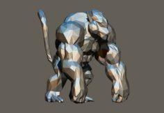Polygon Kong 3D Model