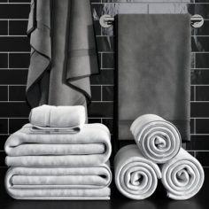 Towels 1 3D Model