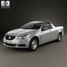 Holden Commodore Evoke ute 2013 3D Model