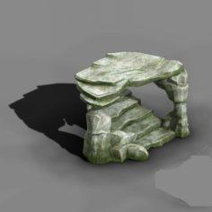 Koike town – Lanruo Temple terrain Shimen 3D Model