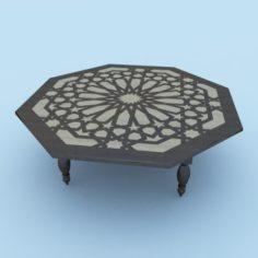 Moroccan Table 3D Model