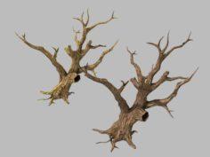 Brutal tribes – dead trees 04 3D Model