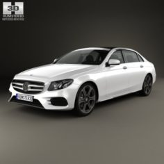 Mercedes-Benz E-Class V213 L 2017 3D Model