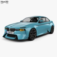 BMW 2002 Hommage 2016 3D Model