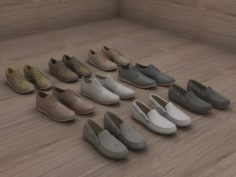 Men Shoes Fashion 3D Model