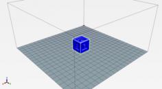 Letter cube 3D Model