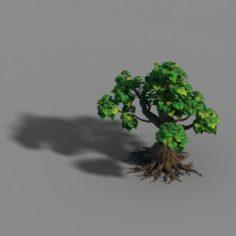 Small bamboo peak – tree 04 3D Model