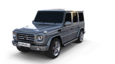 Mercedes Benz G Class Gray 3D Model