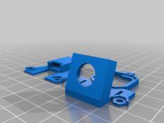 Flite Test Gremlin Camera Mount For Andres Frame 3D Print Model