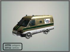 GAZelle 2705 VTB 24 3D Model