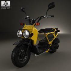 Honda NPS50 Zoomer Ruckus 2005 3D Model