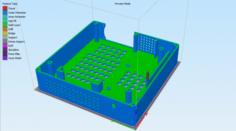 PC case mini-ITX 3D Model