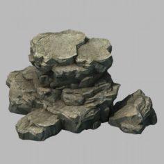Wild – rock 1104 3D Model