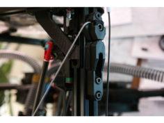 Kossel Wire Cable Frame Braces 2020 (Unlock WARP SPEED) 3D Print Model