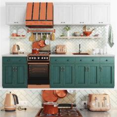 Scandinavian kitchen                                      3D Model