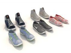 Sport Shoes 2 3D Model