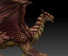 POWERFULL DRAGON 3D Model