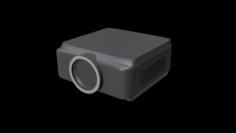 Classroom Projector 1 3D Model